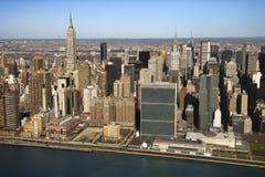 De Stad van Manhattan, New York. Royalty-vrije Stock Foto