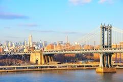 De Stad van Manhattan, New York Royalty-vrije Stock Foto