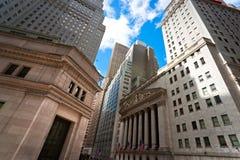 De stad van Manhattan New York, de V.S. Royalty-vrije Stock Foto