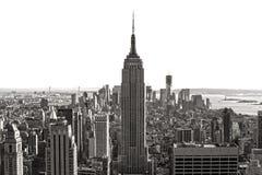 De Stad van Manhattan, New York. De V.S. stock foto