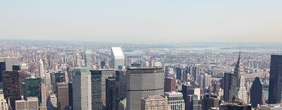 De Stad van Manhattan, New York, Verenigde Staten Royalty-vrije Stock Afbeelding