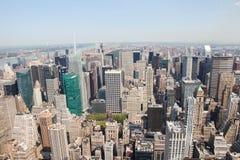 De Stad van Manhattan, New York, Verenigde Staten Stock Foto's