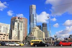 De stad van Melbourne Royalty-vrije Stock Afbeeldingen