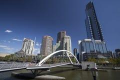 De Stad van Melbourne Royalty-vrije Stock Fotografie