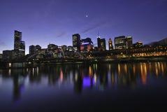 De Stad van Melbourne, Australië Stock Afbeelding