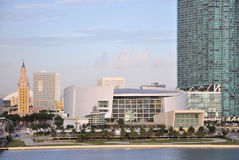 De Stad van Miami Royalty-vrije Stock Foto's