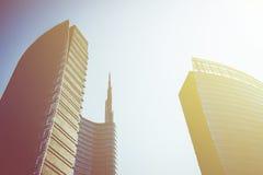 De stad van Milaan Stock Fotografie