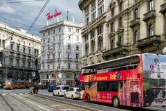 De stad van Milaan, Italië Royalty-vrije Stock Foto's