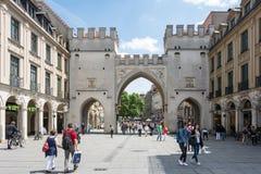 De Stad van München Stock Afbeelding