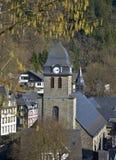 De stad van Monschauduitsland Royalty-vrije Stock Afbeelding
