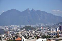 De Stad van Monterrey Stock Foto's