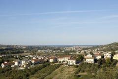 De stad van Montesilvano Royalty-vrije Stock Foto