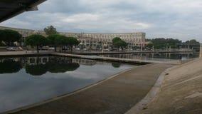 De stad van Montpellier stock foto's