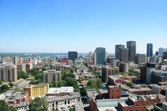 De Stad van Montreal Royalty-vrije Stock Foto's