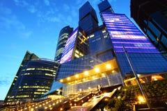 De Stad van Moskou Stock Afbeeldingen