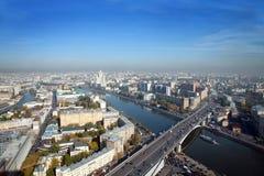 De stad van Moskou stock afbeelding