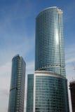 De stad van Moskou Royalty-vrije Stock Foto's