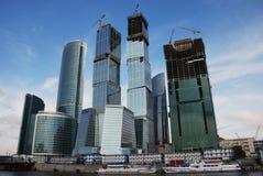 De stad van Moskou Stock Foto's
