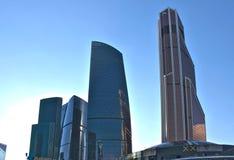 De Stad van Moskou - een commercieel centrum in het centrum van Moskou Stock Afbeeldingen