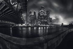 De stad van Moskou, Rusland Stock Afbeeldingen