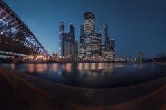 De stad van Moskou, Rusland stock foto