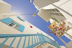 De Stad van Mykonos Royalty-vrije Stock Afbeelding