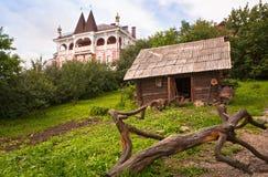 De stad van Myshkin, Yaroslavl-gebied Royalty-vrije Stock Foto's