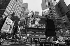 De Stad van nachtnew york royalty-vrije stock afbeeldingen