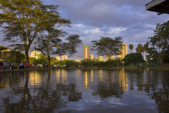 De Stad van Nairobi Royalty-vrije Stock Afbeelding