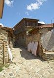 De stad van Nessebar Royalty-vrije Stock Foto's