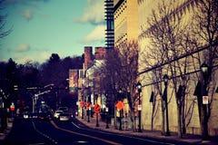 De Stad van New Haven Royalty-vrije Stock Afbeeldingen