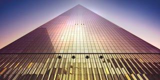 De STAD van NEW YORK - Één World Trade Center Royalty-vrije Stock Afbeeldingen