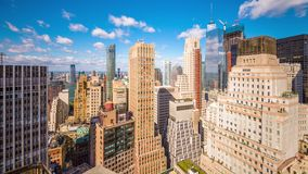 De Stad van New York stock footage