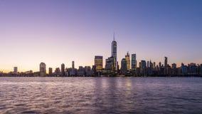De Stad van New York stock video