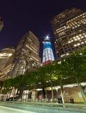 DE STAD VAN NEW YORK - 16 SEPTEMBER: De toren van de vrijheid Royalty-vrije Stock Afbeeldingen