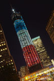 DE STAD VAN NEW YORK - 17 SEPTEMBER: World Trade Center Royalty-vrije Stock Afbeelding