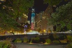 DE STAD VAN NEW YORK - 17 SEPTEMBER: World Trade Center Stock Foto