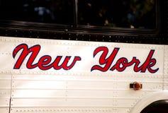De stad van New York Stock Foto's