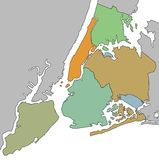 De Stad van New York Royalty-vrije Stock Foto