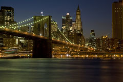 De Stad van New York Stock Afbeeldingen