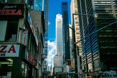 De Stad van New York stock afbeelding