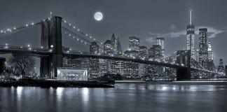 De Stad van New York bij Nacht