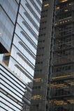 De Stad van New York de bouwwolkenkrabber Stock Foto's