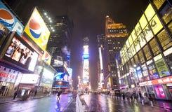 De stad van New York, Broadway Stock Foto