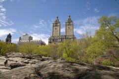 De Stad van New York, Central Park, NY Stock Foto