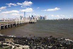De stad van New York de stad in Royalty-vrije Stock Foto