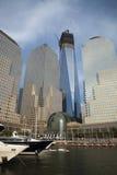 De STAD van NEW YORK de toren van de Vrijheid Stock Afbeelding