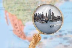 De Stad van New York, de V Royalty-vrije Stock Afbeeldingen