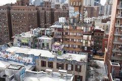 De Stad van New York - Groot Apple stock afbeelding