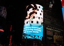 De Stad van New York van het Times Square Stock Afbeelding